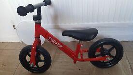 Balence bike red unisex