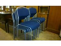 Blue chairs (more available)
