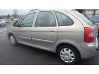 2004 Citroen Picasso 1.5 Diesel with low maillage,full service history&MOT