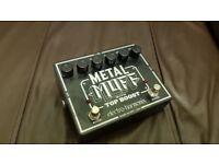 Guitar effect Metal muff