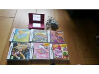 Nintendo dsi and 6 games