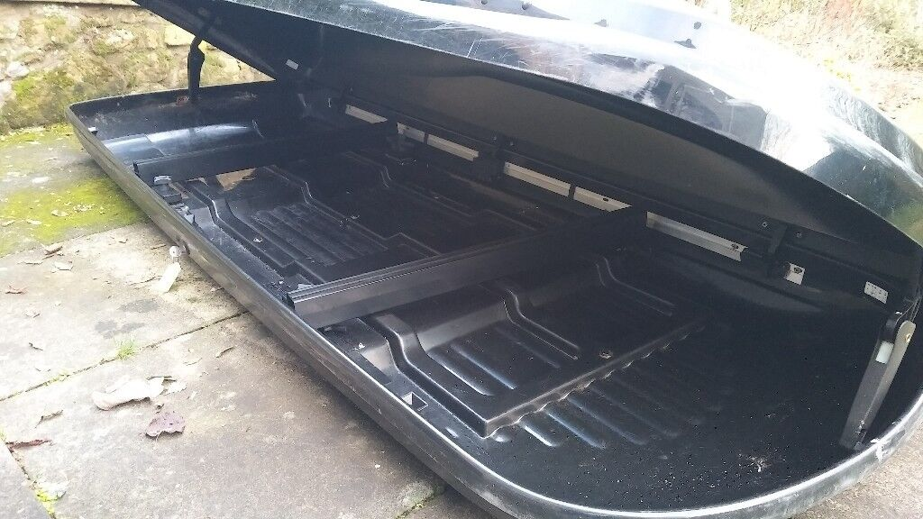 car roof box ideal for skis in cupar fife gumtree. Black Bedroom Furniture Sets. Home Design Ideas