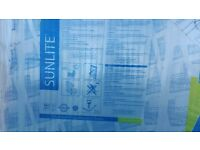 Sunlight Multiwall Polycarbonate sheet 98cm x250cm