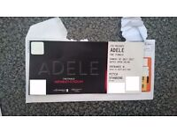 1 Adele The Finale Wembley Sunday 2nd July Standing Pitch Ticket for her last show!