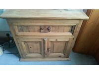 cabinet, cupboard, wood cabinet, vintage