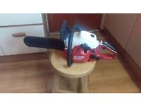 PdPro chainsaw brand new 38cc