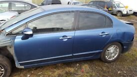 HONDA CIVIC HYBRID,1.3 Auto,,2007,4 DR SALOON,AND OLD SHAPE,