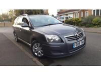 2008/08 Toyota Avensis T2 D-4D 2.0 125Bhp Estate Full Toyota Service History 1F Keeper Long Mot 3Key