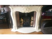 marble louis fire surround