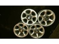"Ford Maverick 15"" Alloy Wheels 4x4 Off Road Nissan Terrano"