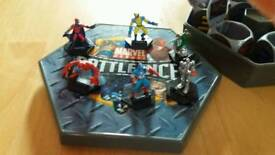 Marvel heroes battle dice full set with 6 figures! 2 available £5each see pics