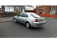 2005 ford mondeo ghia in excellent condition and still has 10 months MOT on it