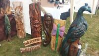 Chainsaw carvings