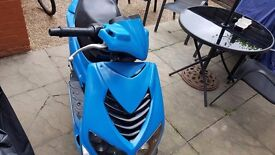 Peugeot Speedfight Moped withh 11 Months Mot