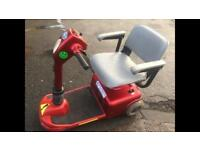 Red Pride Rally Mobility Scooter