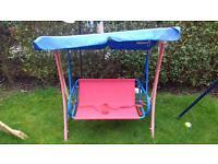 childs swing hammok