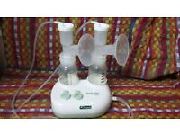 Ameda lactaline electric dual breast pump
