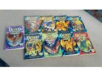 9x beast quest books used condition but still good condition £ 8 for all