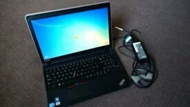 LENOVO THINKPAD LAPTOP INTEL CORE i3 2.3 GHz 4GB RAM 320GB DRIVE WINDOWS 7 VERY GOOD CONDITION £180