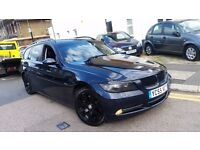 BMW 330D DIESEL TOURING 2006 MINT FULL BMW HISTORY SAT NAV LEATHERS NEW CLUTCH+FLYWHEEL FOR £2050