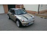 Unique, lovely looking Mini Cooper 1.6, low mileage (73500). Recently serviced, MOT until May 2017.