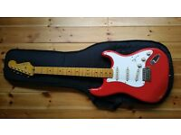 Fender 50's Classic Vibe Fiesta Red - Mint Condition