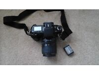 Canon EOS100 Camera with carrying case