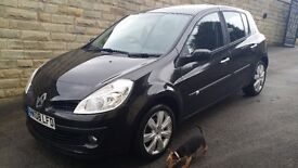 Renault Clio 08/ 2008 Dynamique 1.2 S TCE 3dr STUNNING CONDITION THROUGHOUT IDEAL FIRST CAR....