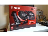 MSI Gaming X RX480 8GB Graphics / Video Card GPU used but just like new for sale