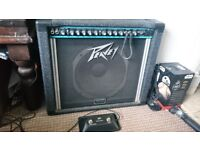 Peavey Bandit 112 80w guitar amp amplifier with Scorpion speaker and footswitch