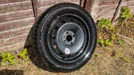 R15 4x100 Spare alloy wheels with new tyre (Renault megane, clio, scenic, Honda, VW)
