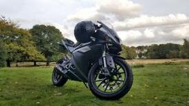 Yamaha YZF R125, Scorpion Exhaust System, 2807 miles on the clock