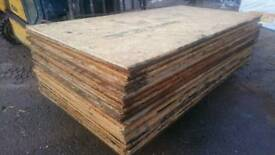 RECLAIMED PLY BOARDS, OSB TYPE PLYBOARDS