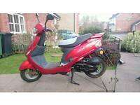50cc Baotian moped