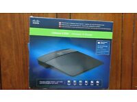 Unused Kinksys E1200 Wireless-N Router