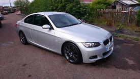 BMW 325i M Sport E92, Superb Example