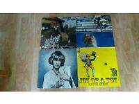 4 x kevin ayres - joy of a toy / whatevershebrings / rainbow / sweet - original issue vinyl LP's
