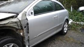 BREAKING PARTS VAUXHALL ASTRA H SILVER PARTS ONLY