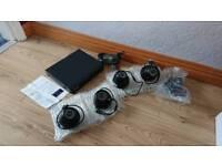 Sansco 4 camera CCTV