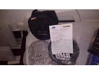 Brand New Bucket Barbeque (BBQ) for use with Caravans, Motorhomes or Camping.