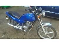 learner legal geared 125 wuyang honda cg 125cc 4 stroke