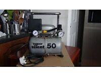Super Silent air compressor 3.5 ltr