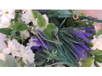 Selection of Artificial flowers. Suitable for wedding