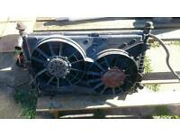 MONDEO V6 RADIATOR WATER + AC+FAN full works