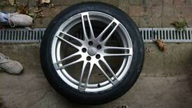 4 EXCEPTIONAL AUDI Q5 20 INCH ALLOY WHEELS WITH GREAT TYRES