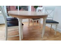 Dining table with four chairs M&S Greenwich
