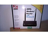 Wireless Router 4-port Zoom model 5790