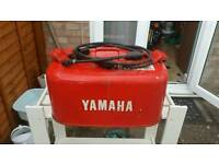 Yamaha metal outboard fuel container
