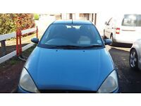 Ford Focus Zetec long MOT