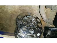 Hgv truck wheel trims 22.5